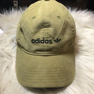 3cf7127fe17 Adidas woman fit olive green corduroy cap